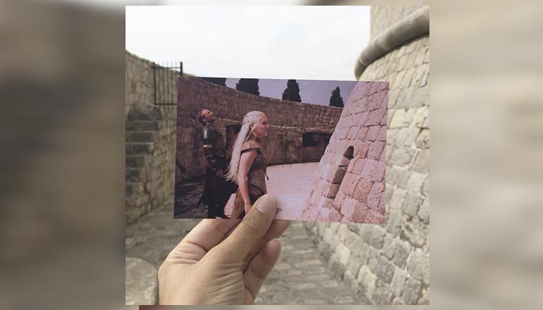 Esta blogger hace fotos en localizaciones reales de películas y series