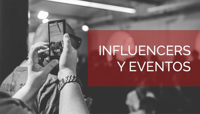 El marketing de influencers en eventos