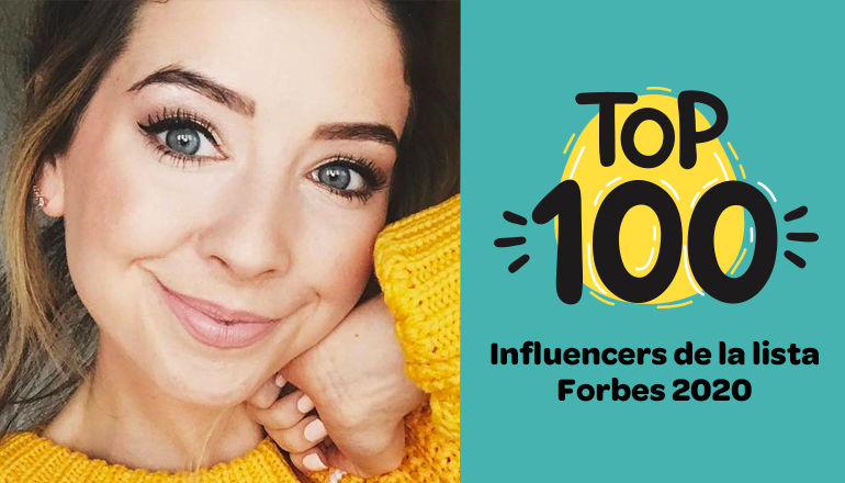 Lista de influencers de Forbes 2020